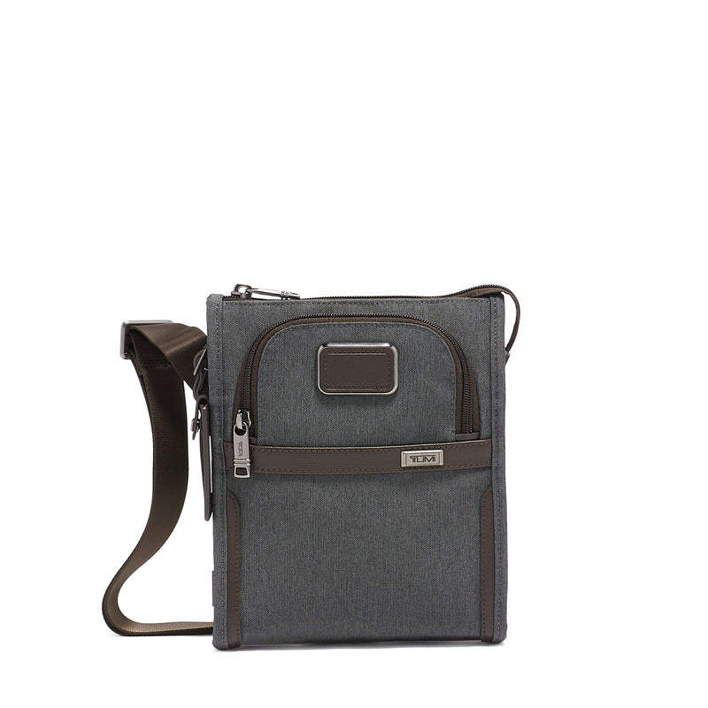 Alpha 3 Pocket Bag Small //  Anthracite