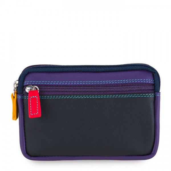 Mywalit Small Leather Double Zip Purse