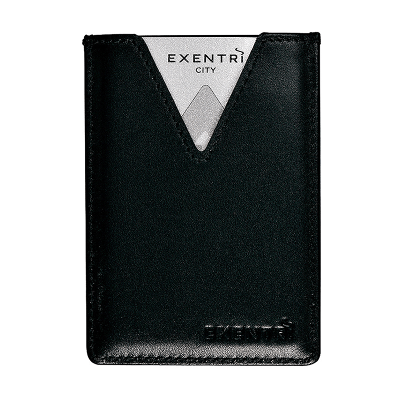 Exentri City Card - Black - Back
