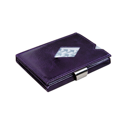 Exentri Leather Wallet - Purple Haze