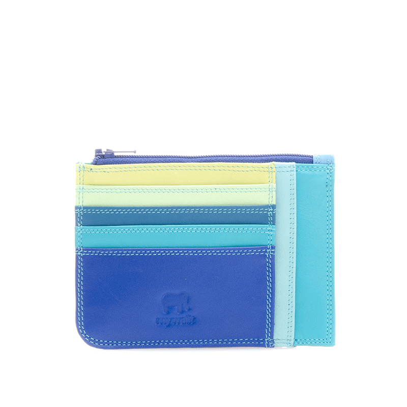 Mywalit Slim Credit Card Holder w/ Coin Purse // Seascape