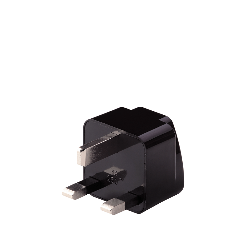 Grounded Adapter Plug for GB/Africa