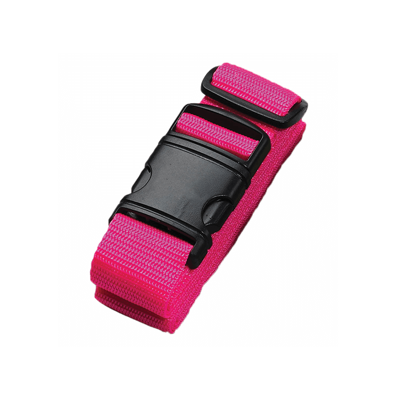 Neon Travel Belt // Pink