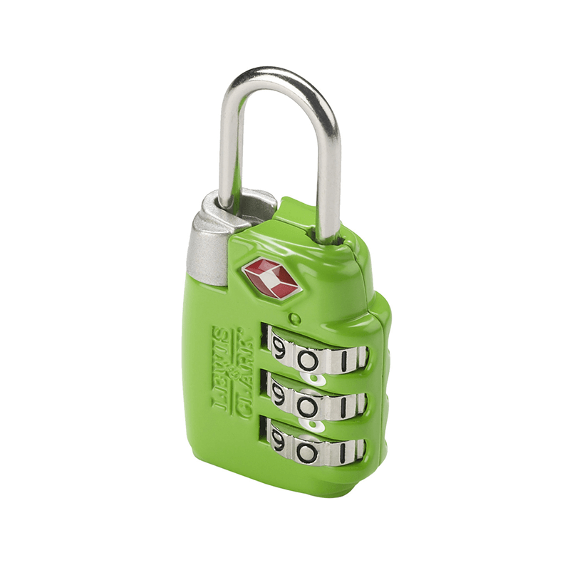 Large Dial Combination Lock // Green