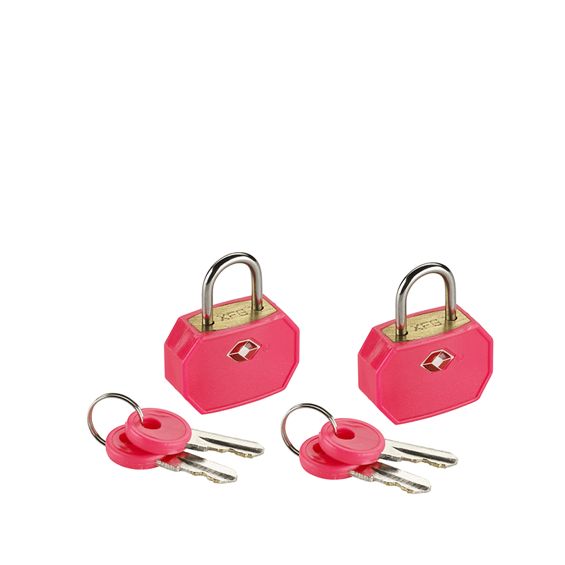 Mini Padlocks, 2 Pack Pink