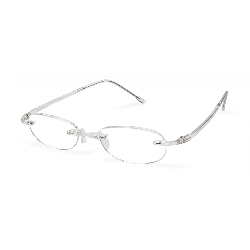 Scojo Gels Reading Glass // Crystal