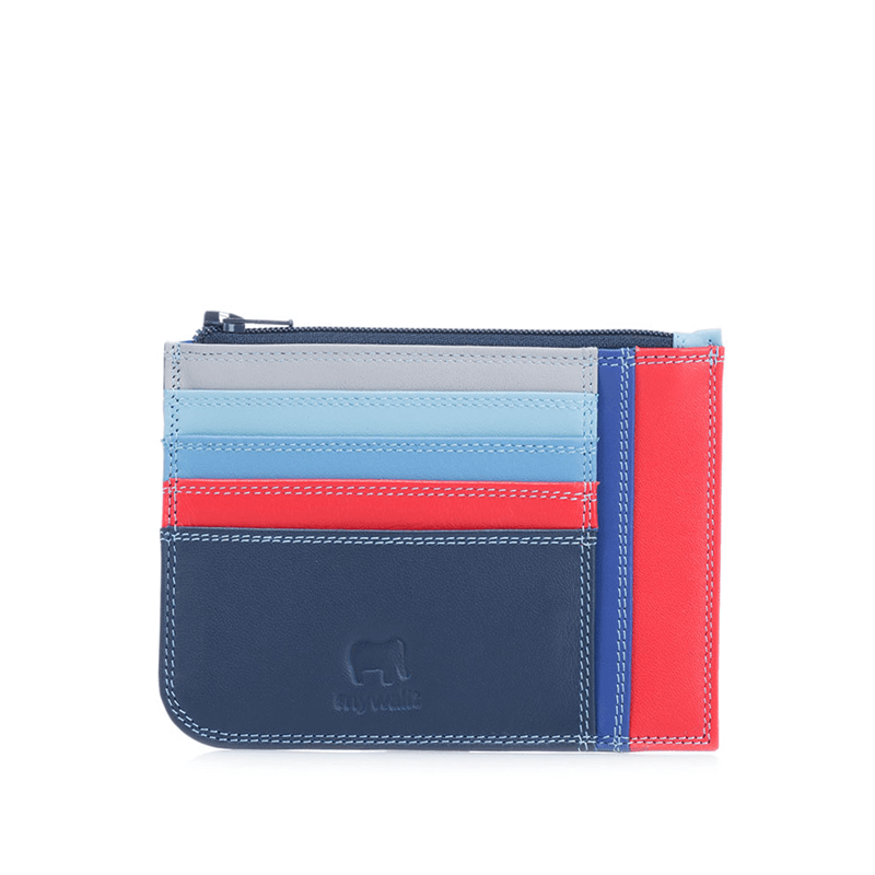 Mywalit Slim Credit Card Holder w/ Coin Purse // Ruby