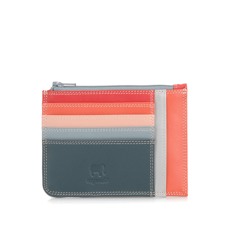 Mywalit Slim Credit Card Holder w/ Coin Purse // Urban Sky