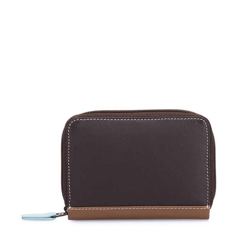 Mywalit Zipped Credit Card Holder // Mocha