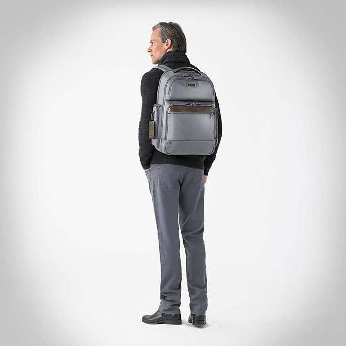 Briggs & Riley Large Cargo Backpack // Gray