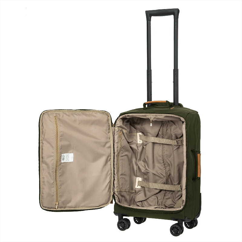 "Bric's X-Travel Carry On Spinner 21"" // Olive"