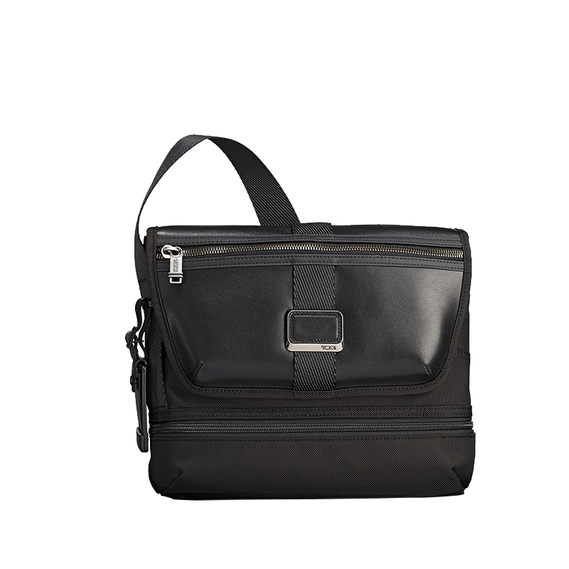 Tumi Alpha Bravo Travis Crossbody // Black