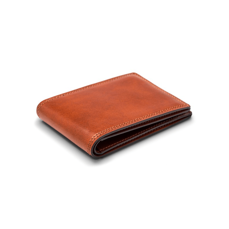 Bosca Dolce Small Bifold Wallet // Amber