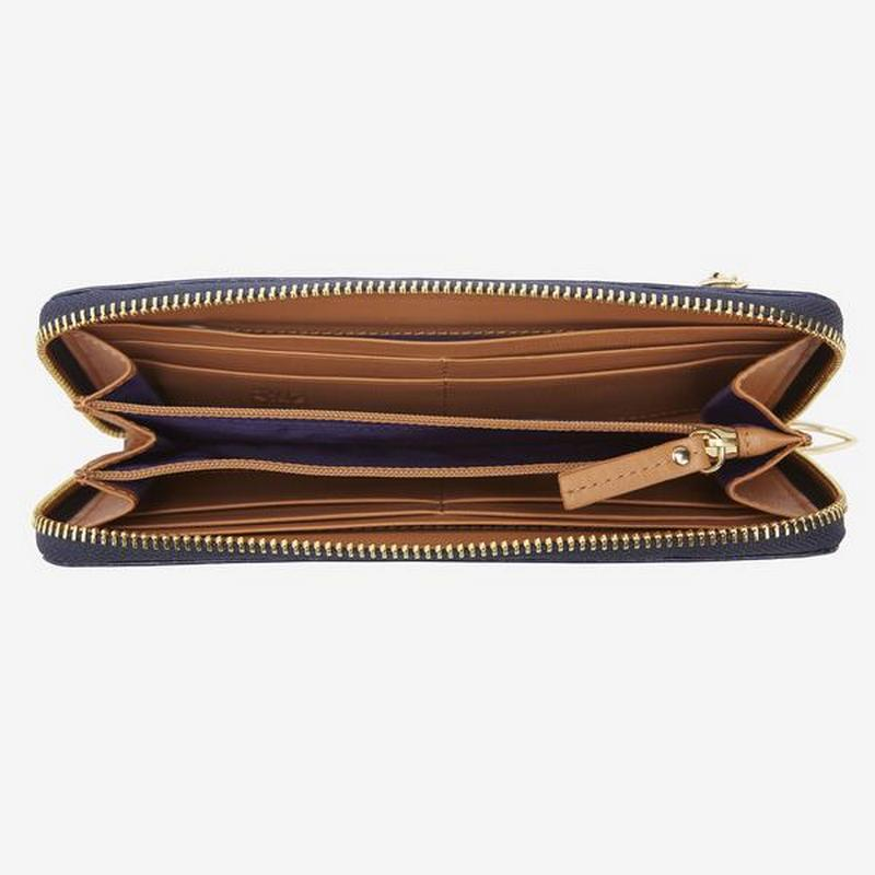 tusk-301-womens-saffiano-single-zip-wallet-navy-open_600x