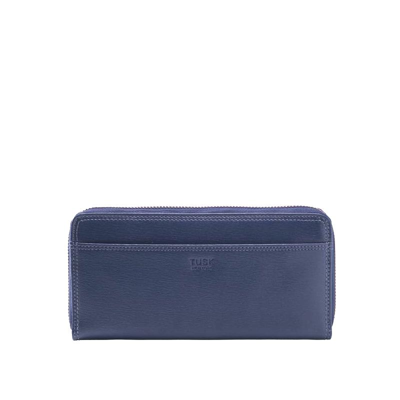 tusk-301-womens-saffiano-single-zip-wallet-navy-front_600x