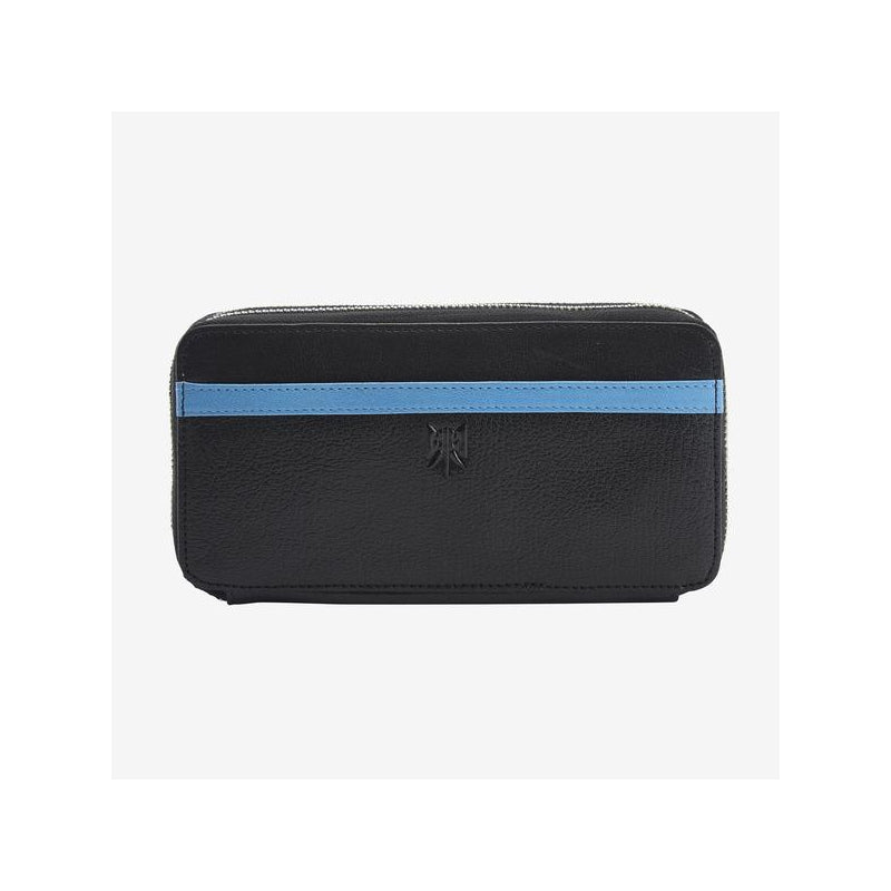 tusk-443-ur-double-zip-wallet-black-and-french-blue-front_600x