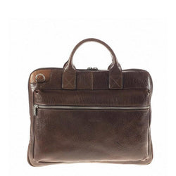 Chiarugi Firenze Two Handle Document Holder // Brown
