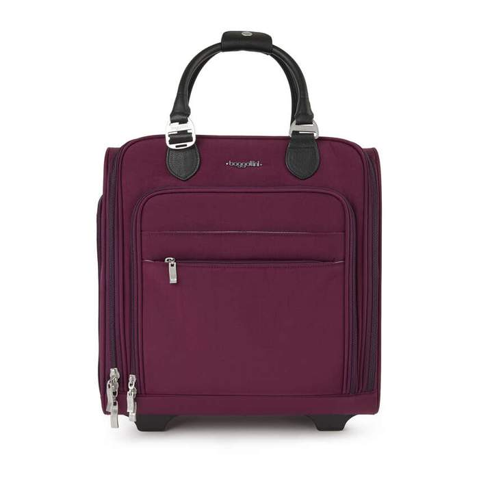 "Under Seat Carry-on 15"" (2-Wheel) // Eggplant"