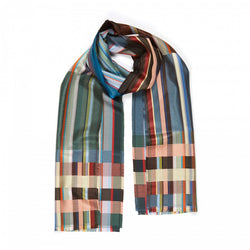 Wallace Sewell SILK SANDRO  SCARVES DEEPSEA
