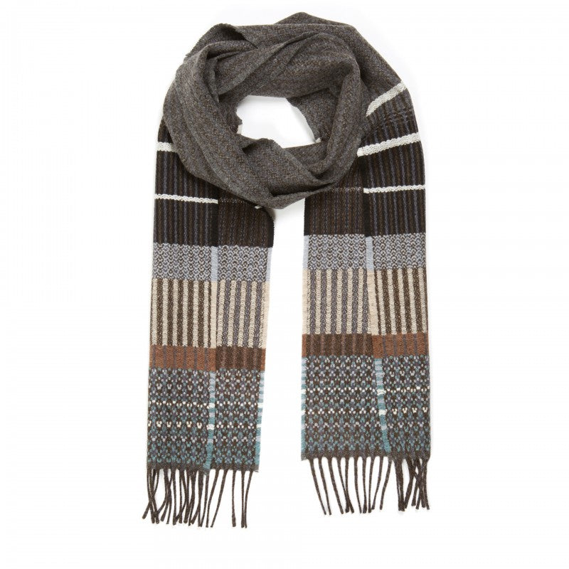 Wallace Sewell LAMBSWOOL KYOTO SCARVES - GREY