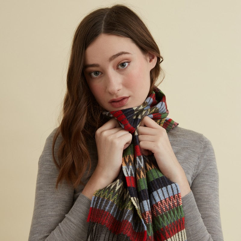 Wallace Sewell LAMBSWOOL TOKYO SCARVES// MEDLEY