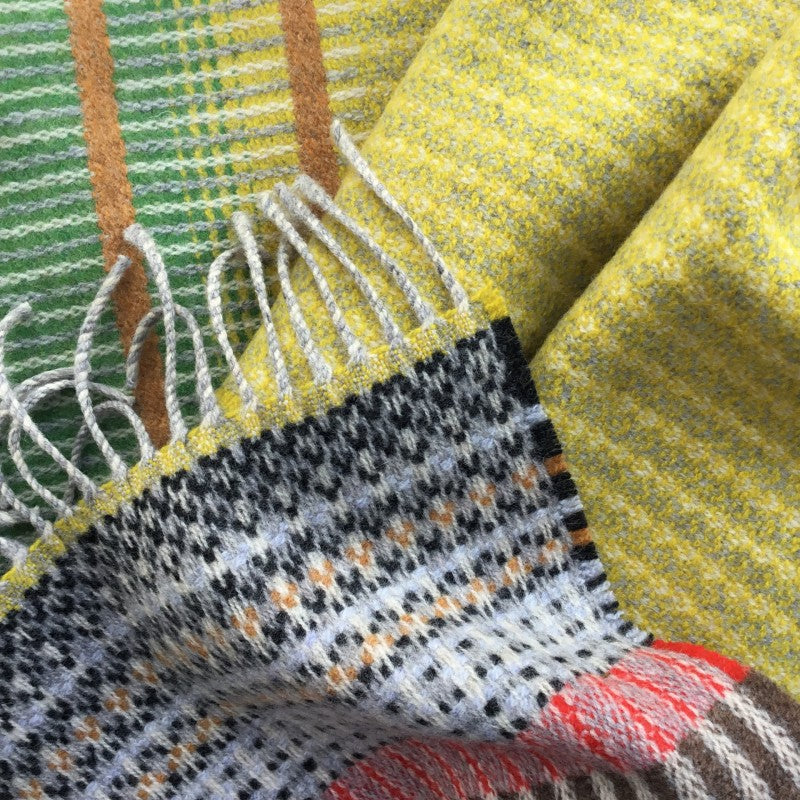 Wallace Sewell LAMBSWOOL KYOTO SCARVES - YELLOW