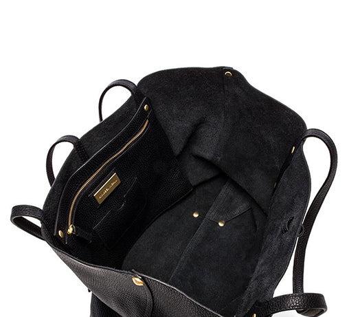 Small Isabella Tote // Black