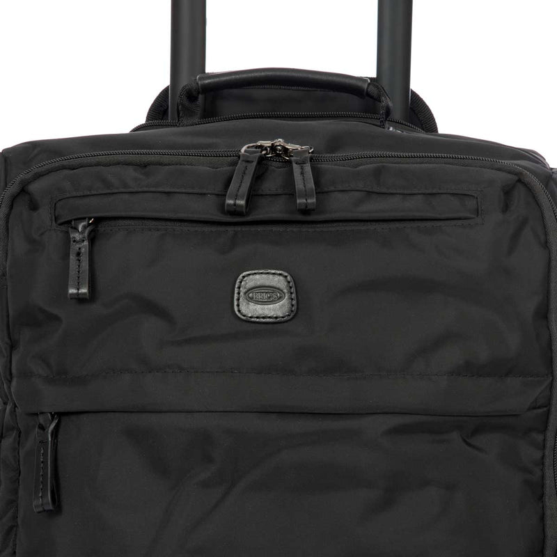 "X-BAG 21"" CARRY-ON SPINNER - ALL BLACK"