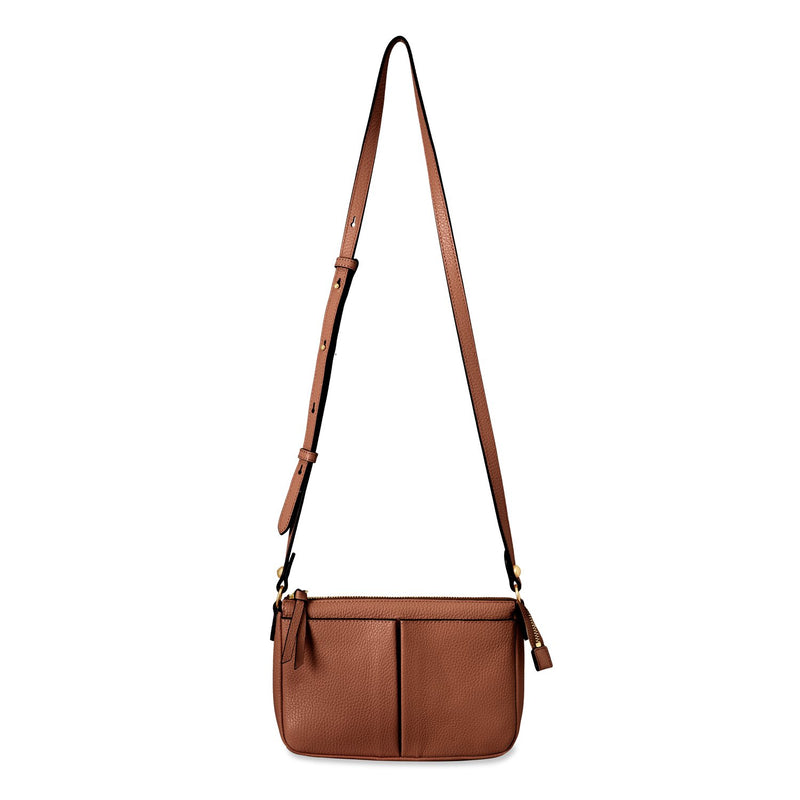 Genevieve Leather Crossbody