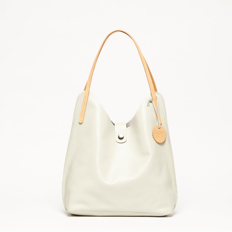 VOGUE Leather Triangle Shape Bag