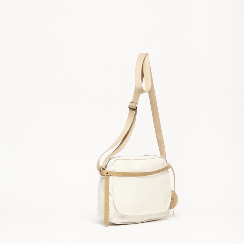 Happy Small Shoulder Bag - Beige Collection