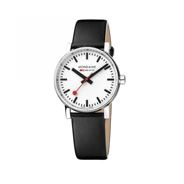 Swiss Quartz Stainless Steel Watch 35mm