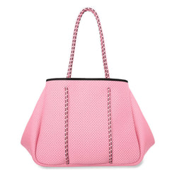 Sporty Spice Neoprene Tote // PINK SHELL