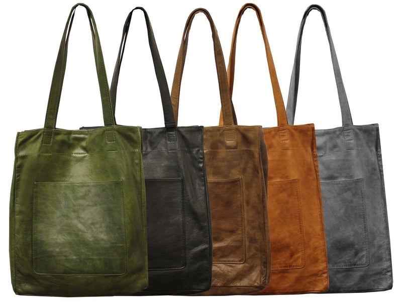 Margie Leather Tote