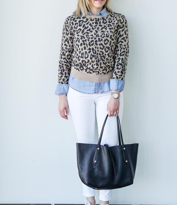 Small Isabella Tote // Deer