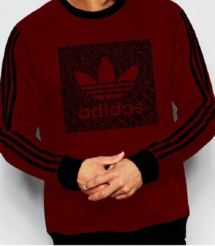 men-maroon-summer-sweat-shirt