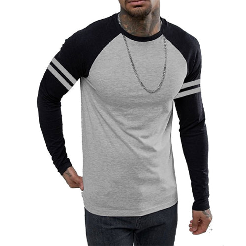men-fullsleeve-striped-gym-shirt-grey