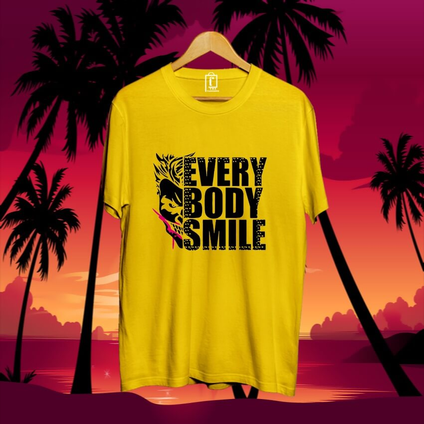 men-printed-cotton-tshirt-yellow