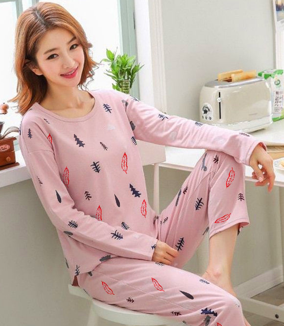 women-pink-night-suit