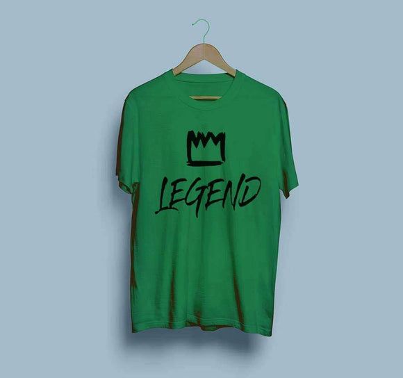 men-printed-green-tshirt
