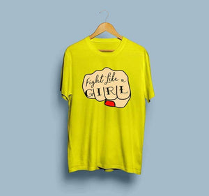 women-yellow-printed-cotton-tshirt