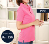 Glam-Shot Polo - Pink