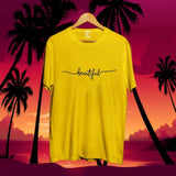 women-beautiful-printed-cotton-tshirt-yellow