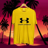 under-armour-cotton-tshirt-yellow