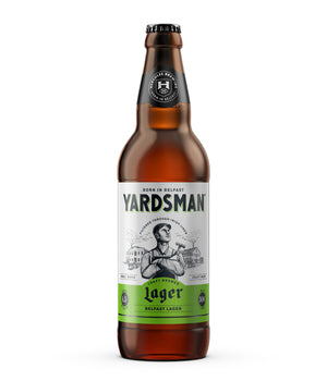 Yardsman - Belfast Lager - 500ml Bottle