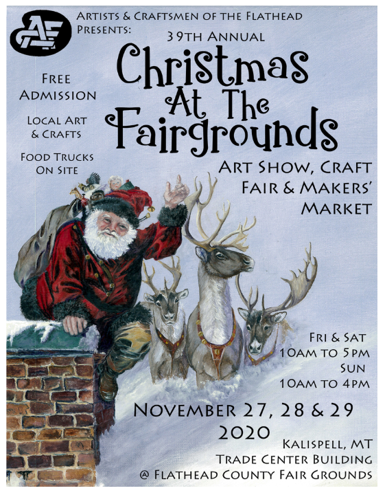 Artists and Craftsmen of the Flathead Christmas Show 2020