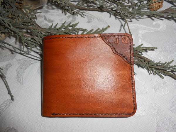 Handcrafted Personalized Wallet by Montana Leatherworks