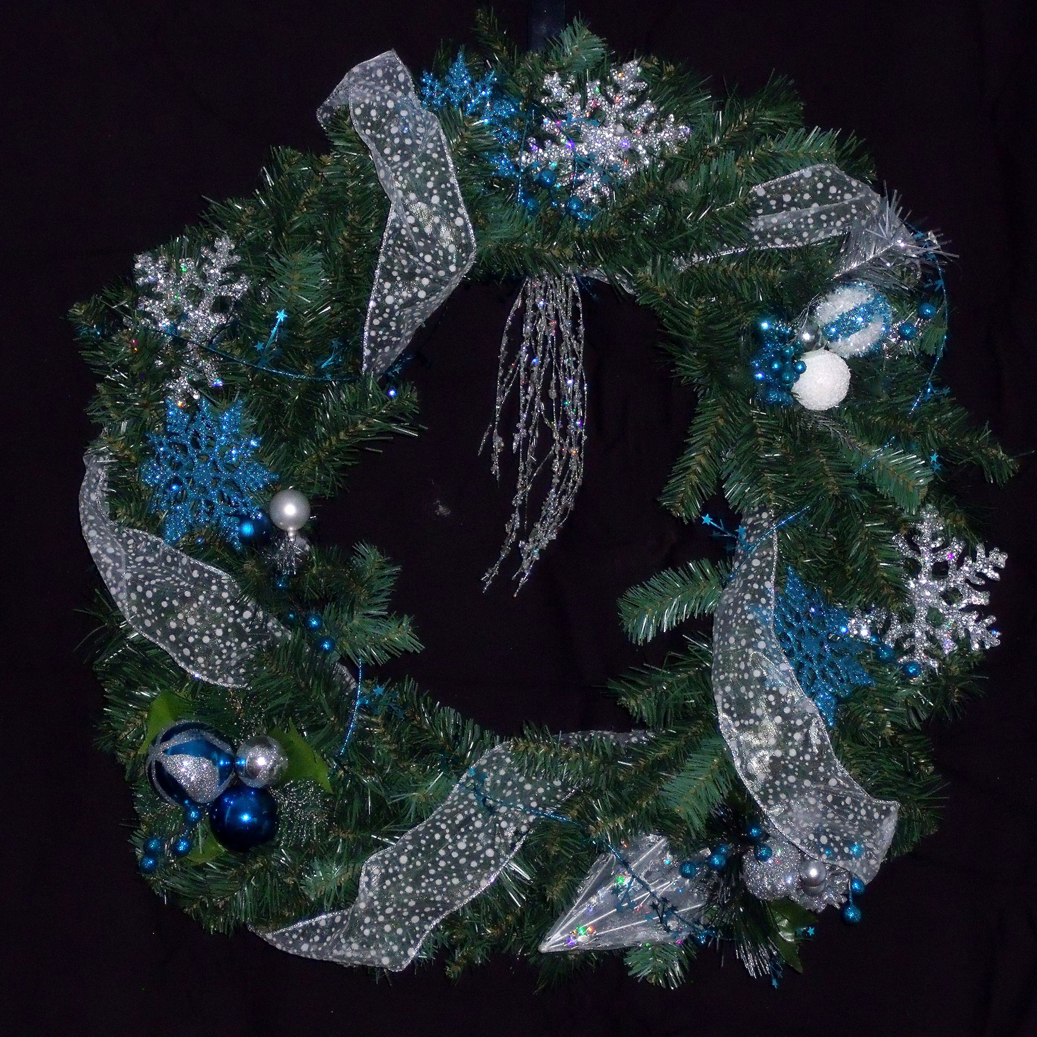 Snowflake Dreams Wreath from Creations by Caron