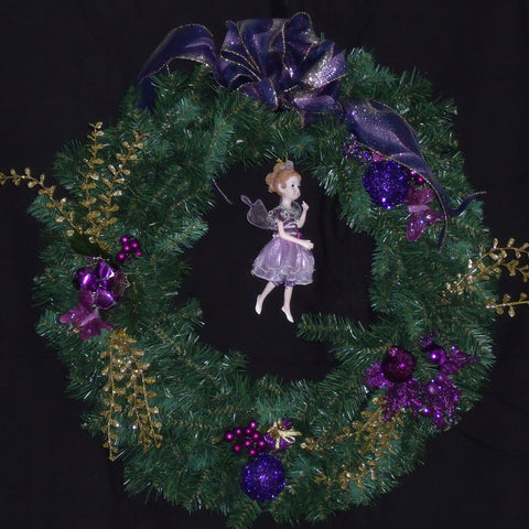Sugar Plum Fairy Wreath
