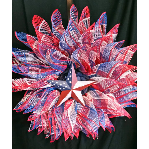 All American Wreath from Creations by Caron